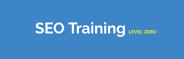seo training level zero